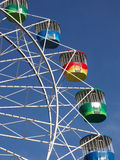 Colorful ferris wheel. With blue sky background Royalty Free Stock Photography