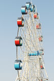 The colorful Ferris wheel in  blue sky Stock Photo