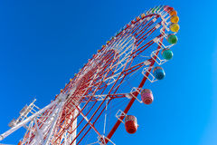 Colorful Ferris Wheel in blue sky Royalty Free Stock Photo