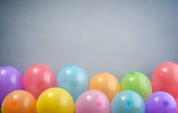 Colorful festive balloons Stock Photos