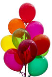 Colorful Festive Balloons Stock Photo