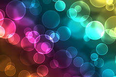Colorful festive Christmas  background with bokeh. Colorful festive Christmas elegant abstract background with bokeh lights Royalty Free Stock Images