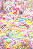 Colorful festive lollipops Royalty Free Stock Photos