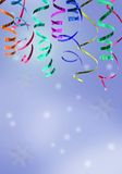 Colorful festive ribbon Stock Photo