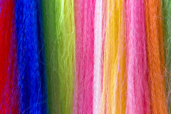 Colorful fibers background Royalty Free Stock Image
