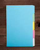 Colorful File Folders Royalty Free Stock Photo