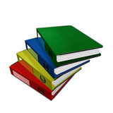 Colorful file holder Royalty Free Stock Photography