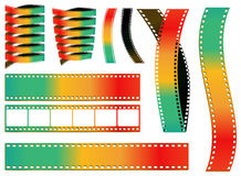 Colorful film Royalty Free Stock Photo