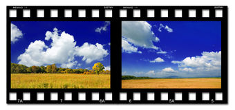 Colorful film Royalty Free Stock Image