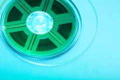 Colorful film reel Stock Image