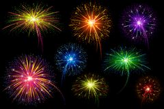 Colorful Firework Royalty Free Stock Image