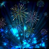 Colorful Firework Stock Images