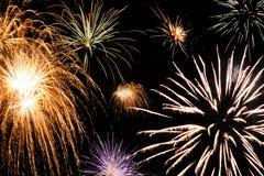 Free Colorful Firework Streaks Royalty Free Stock Photos - 25560468