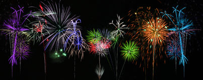 Free Colorful Fireworks Stock Images - 11794724