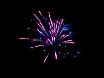 Colorful fireworks beautiful Royalty Free Stock Images