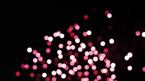 Colorful of fireworks boken. Happy New Year