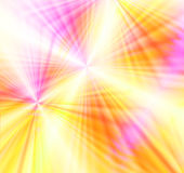 Colorful Fireworks Burst. Bright and vivid colorful burst of wavy laser light rays like spectacular fireworks royalty free illustration