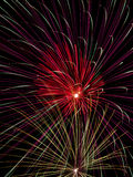 Colorful Fireworks Display Royalty Free Stock Image