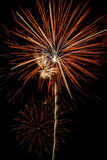 Colorful Fireworks Explosions Royalty Free Stock Image