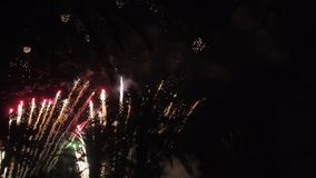 Fireworks multiple. Firework. Colorful fireworks atn holiday night stock video footage