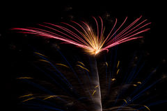 Colorful Fireworks Pattern Royalty Free Stock Photos