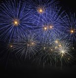 Colorful fireworks Stock Images