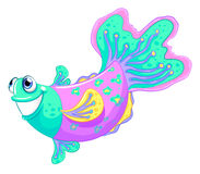 A colorful fish Royalty Free Stock Image