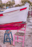 Colorful Fishing Boat Royalty Free Stock Photo