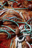 A colorful fishing gear Royalty Free Stock Photo