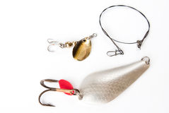 Colorful Fishing Lures Stock Photos