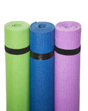 Colorful Fitness Mats Royalty Free Stock Photo