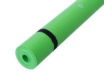 Colorful Fitness Mats Royalty Free Stock Image