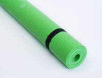 Colorful Fitness Mats Royalty Free Stock Photography