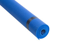 Colorful Fitness Mats Royalty Free Stock Photos