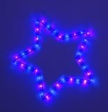 Colorful five-pointed star Stock Photo