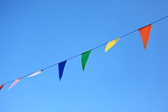 Colorful Flags Decoration Stock Image