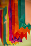 Colorful Flags for the June Party in Brazil Royalty Free Stock Photo