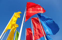 Colorful flags Royalty Free Stock Photos