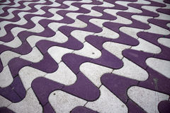 Colorful Flagstones Stock Images