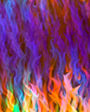 flame blur background Stock Photos