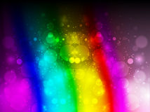 Colorful flare Stock Photography