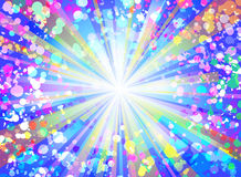 Colorful flash vector background. Stock Photo