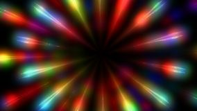 Colorful flashing lights. Rotating color background. stock video
