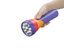 Colorful flashlight Stock Images
