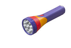Colorful flashlight Stock Photo