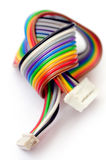 Colorful flat cable Stock Photography