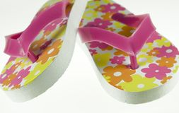 Colorful flip-flops Stock Photography
