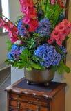 Colorful Floral Arrangement Stock Photo