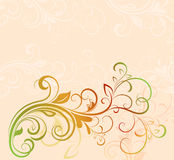 Colorful floral background. With copy space Stock Image