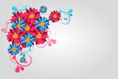 Colorful floral background Royalty Free Stock Photos